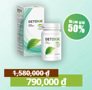 Detoxic diệt ký sinh trùng có tốt không, giá bao nhiêu, mua Detoxic ở đâu chính hãng?